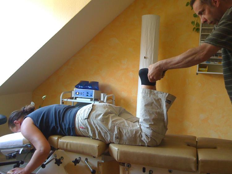 Chiropraktiker Axel Schuster, Oebisfelde in der Altmark